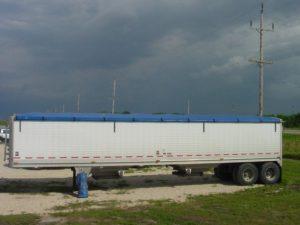 blue roll tarp system