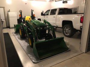 Garage Mat Tractor